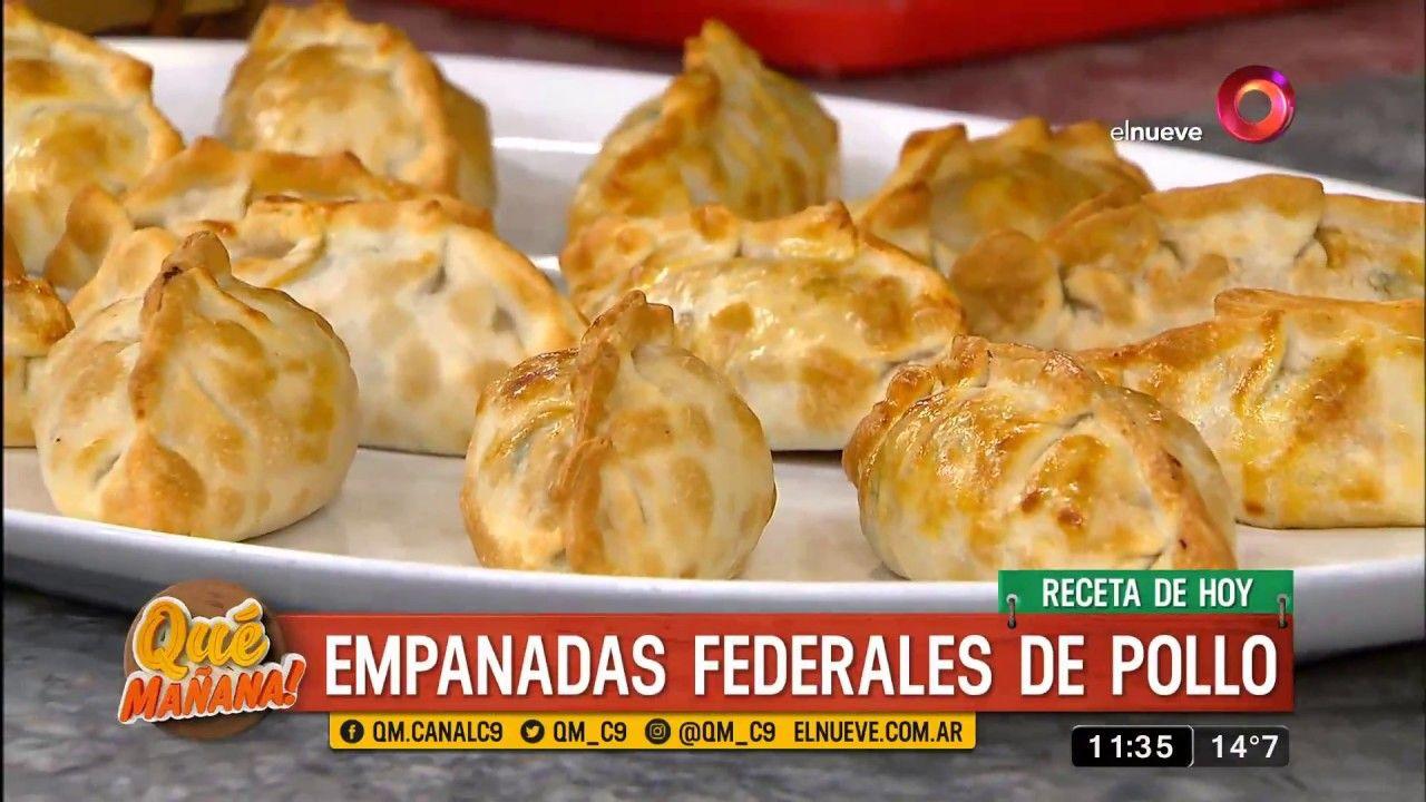 Receta De Empanadas Federales De Pollo Receta De Empanadas Empanada De Pollo Tapas De Empanadas