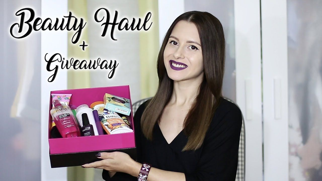 BEAUTY HAUL + GIVEAWAY (octombrie) | L'Oreal, Maybelline, Sleek, Nyx