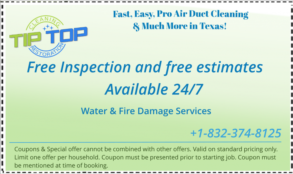 Coupon Free Estimate Fire Water Damage Cleaning Texas