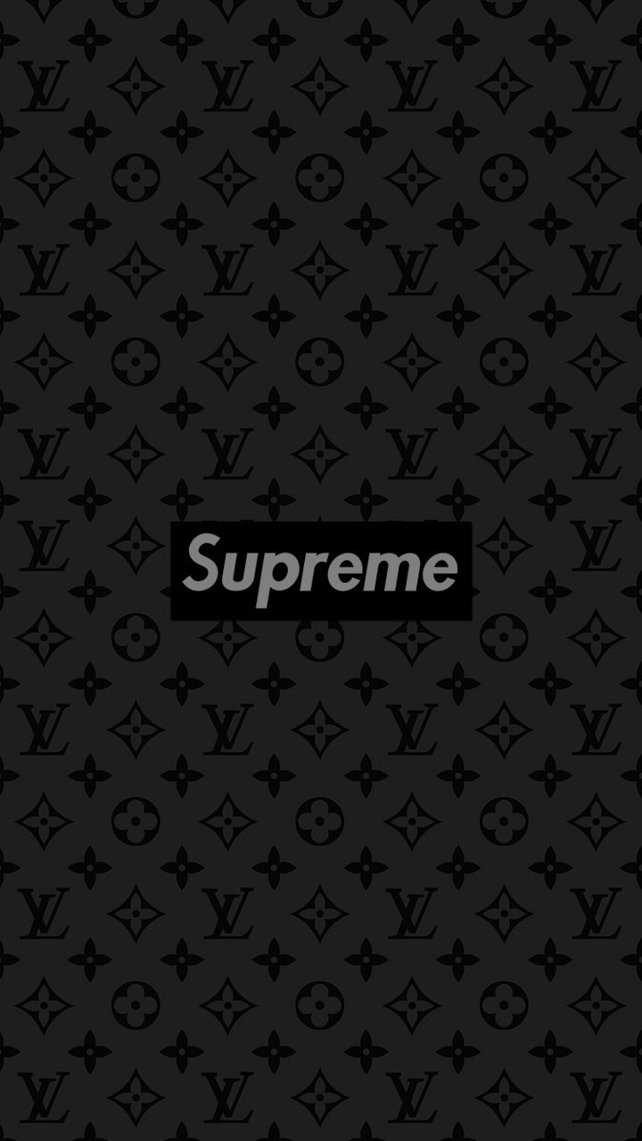 Supreme Louis Vuitton Wallpaper In 2019 Supreme Iphone