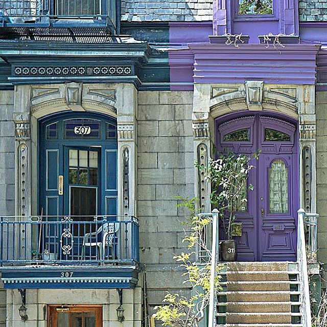 How about these Montreal doors? & How about these Montreal doors? | Instagram @thisdarlingworld ... pezcame.com