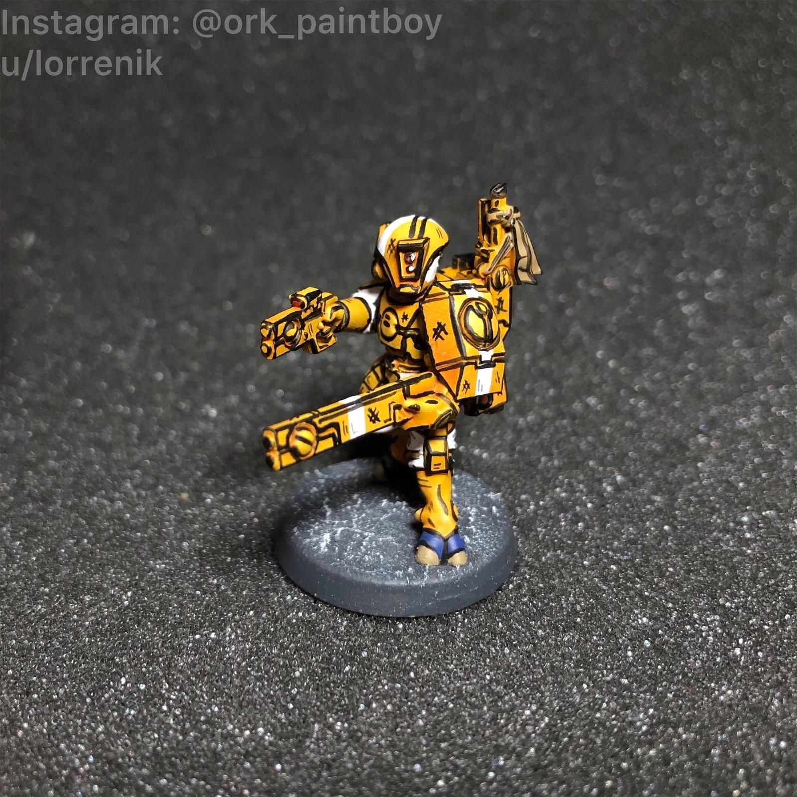 Still Working On The Small Units Of My Borderlands Tau