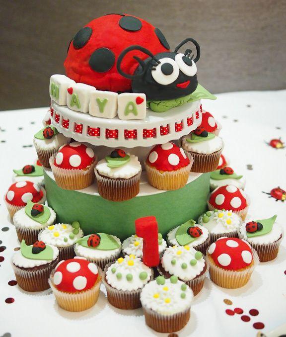 Astounding 3D Ladybug Cake Techniques With Images Ladybug Cake Cake Funny Birthday Cards Online Kookostrdamsfinfo