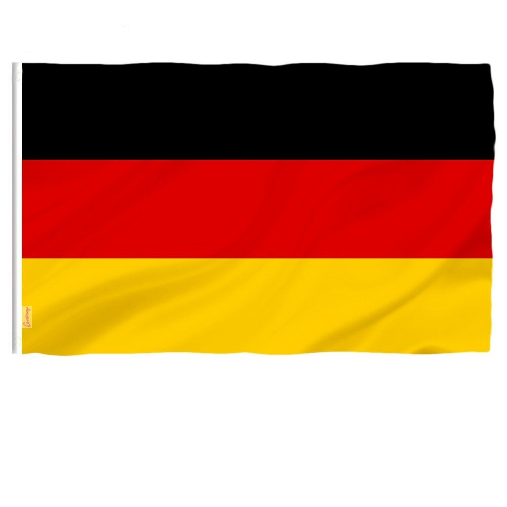 Double Sided Germany National Flag Football Bomb National Flag National Flag Football Flag