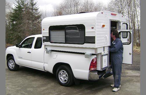 The Alaskan Camper Mini Camper For Small Trucks Mini Camper