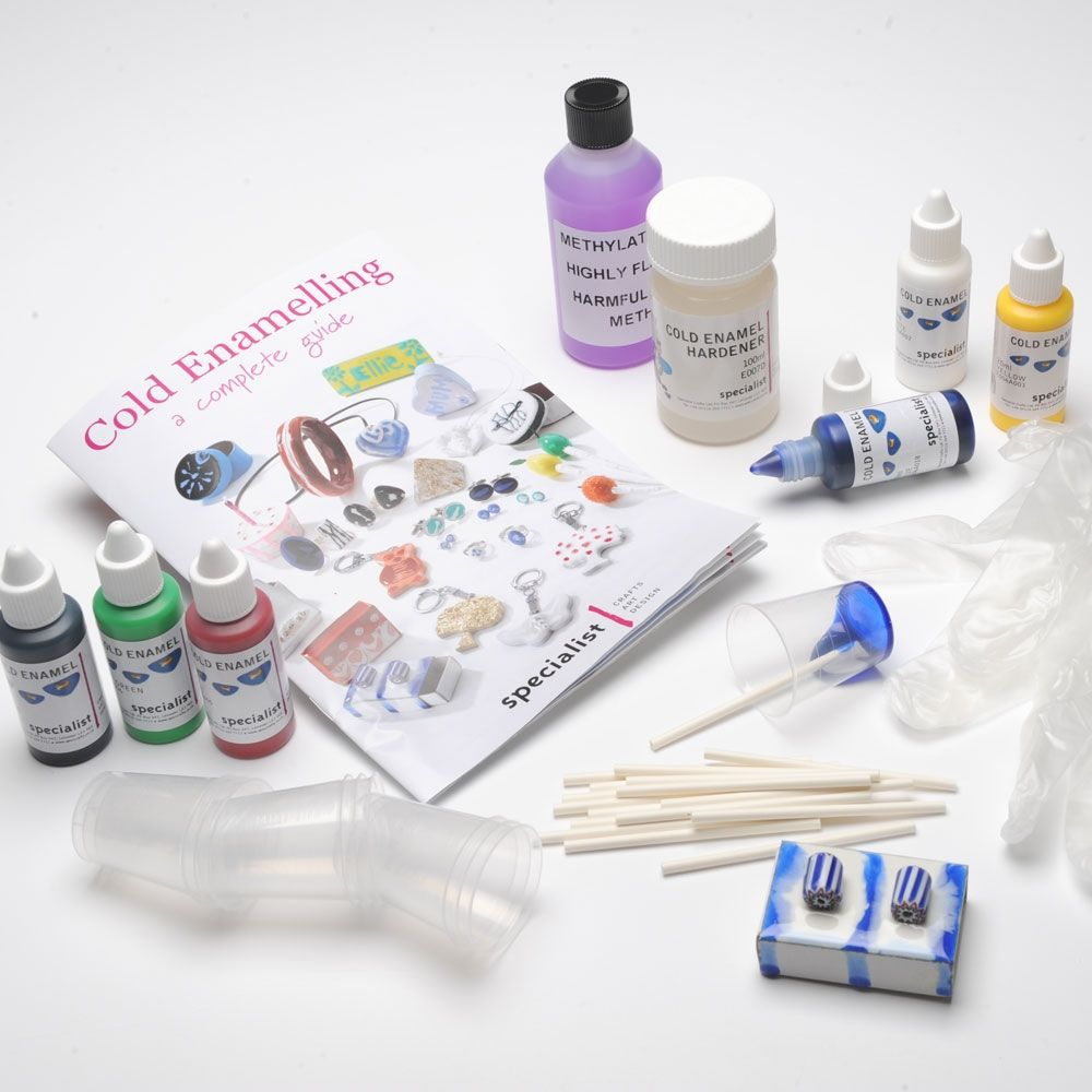 Cold Enamelling Introduction Pack