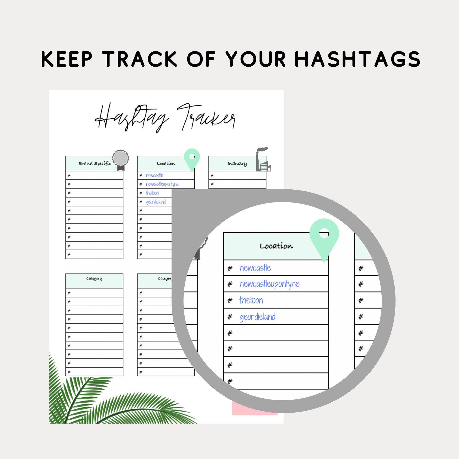 Social Media Hashtag Tracker
