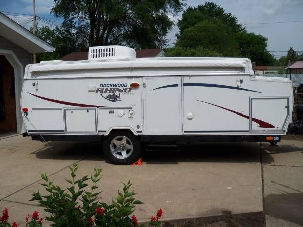 Pop Up Camper 2005 Rockwood Rhino High Wall Pop Up Camper