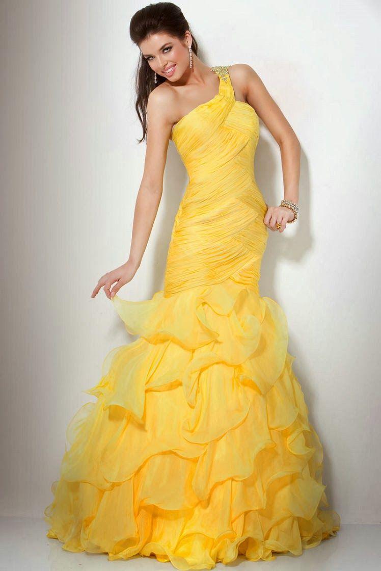 Los mejores vestidos de noche 2014