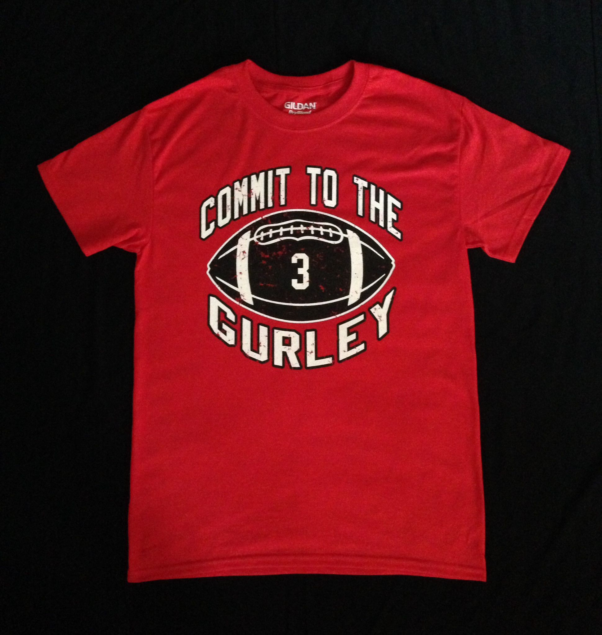 Commit To The Gurley Shirt Support Todd Gurley This College Football Season Godawgs College Football Season Georgia Bulldogs Football Todd Gurley