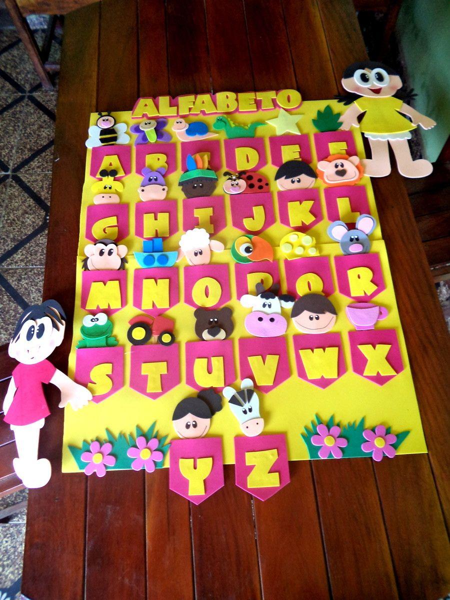 Kit De Paineis Para Educacao Infantil Acompanha 01 Alfabeto
