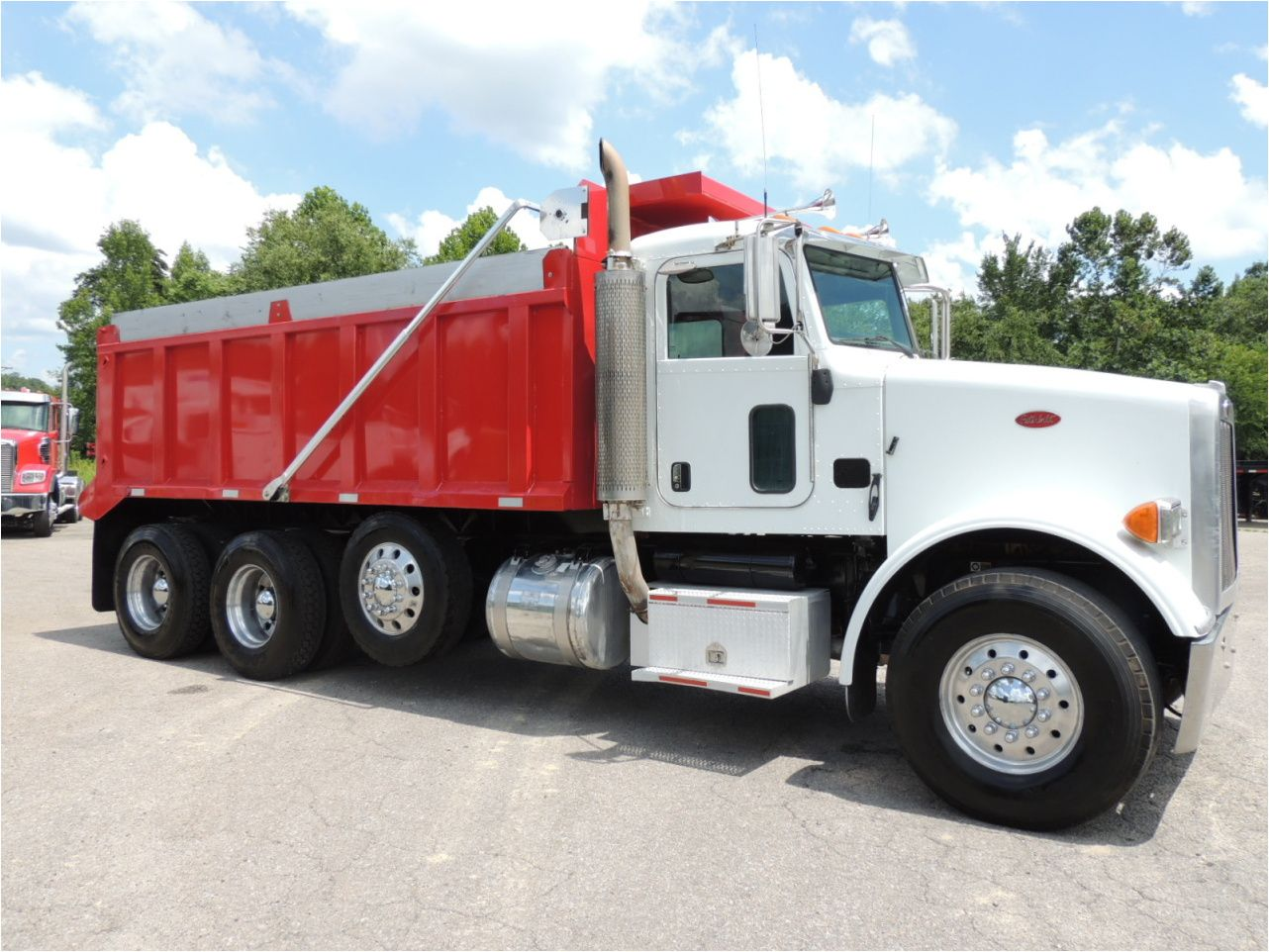 2008 Peterbilt 365 Dump Truck For Sale Dump Trucks For Sale Trucks For Sale Peterbilt