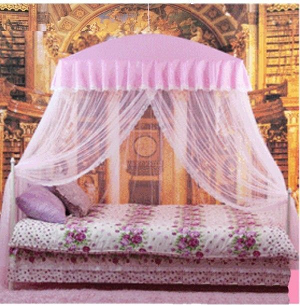Mosquito Net Bed Canopy Pink Princess Bedding Fits Twin Queen King 8900622995932 Ebay Pink Princess Bedding Princess Bed Princess Canopy Bed