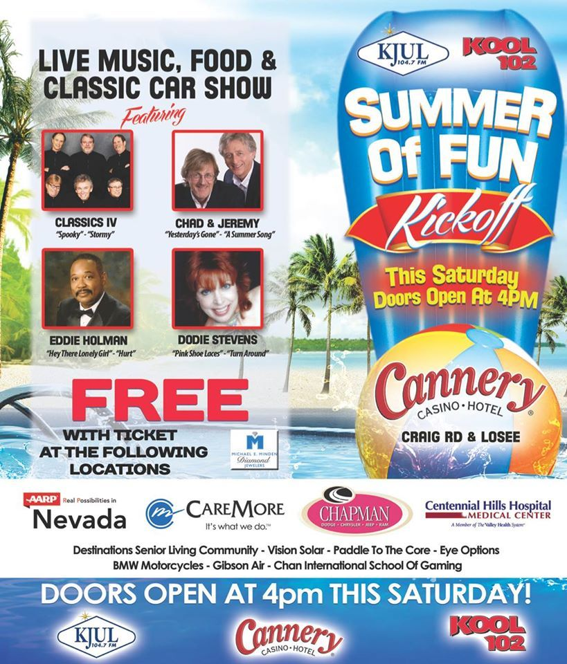 KOOL 102 FREE Summer of Fun Kickoff & Classic Car Show