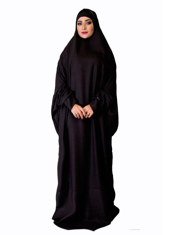 41603a569 Black One Piece Prayer Dress   Muslim Prayer Clothes & Prayer Outfit    Islamic Boutique