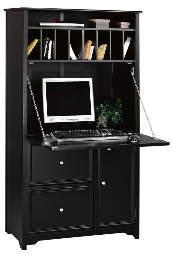 Charmant Oxford Tall Secretary Desk   Secretary Desks   Home Office Furniture    Furniture   HomeDecorators.com