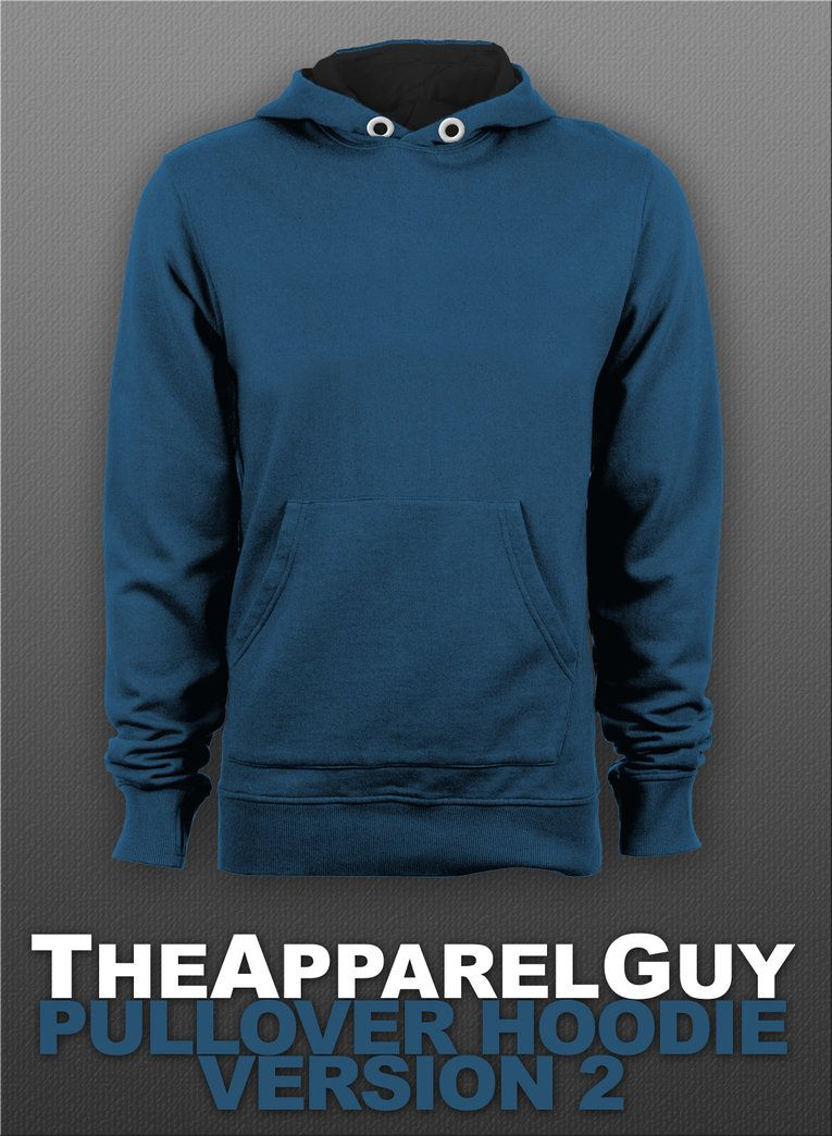 Pullover Hoodie Version 2 PSD by TheApparelGuy | Mockups & templates ...