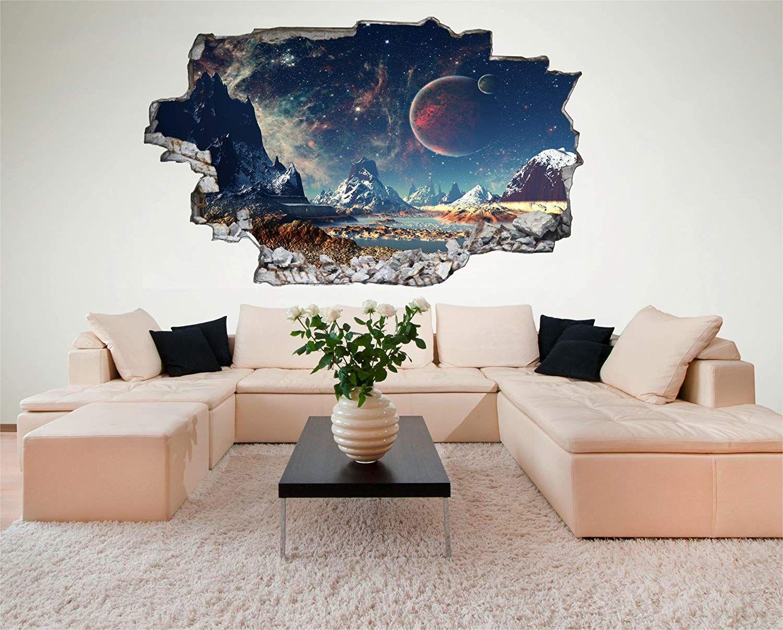 Wanddeko für ein Weltraum Kinderzimmer. Mit diesem coolen