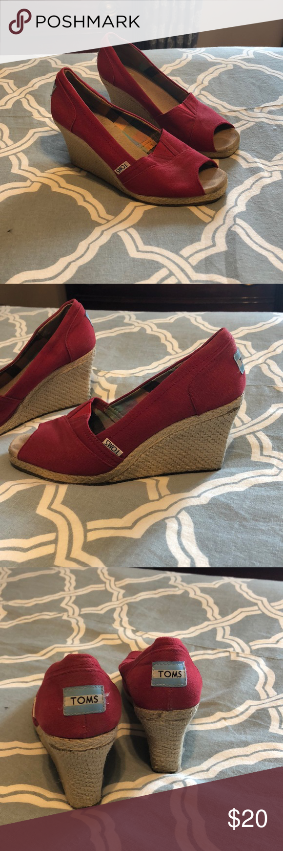 Wedges Red Tom wedges Toms Shoes Wedges #tomwedges Wedges Red Tom wedges Toms Shoes Wedges #tomwedges