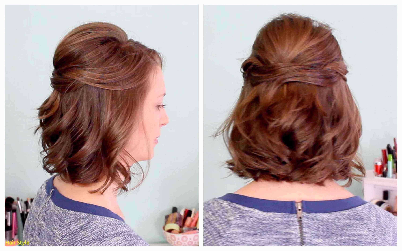Elegante Hochzeit Frisuren Für Kurze Haare Zur Hälfte Neueste