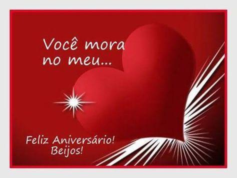 Voce Mora No Meu Feliz Aniversario Beijos Com Imagens