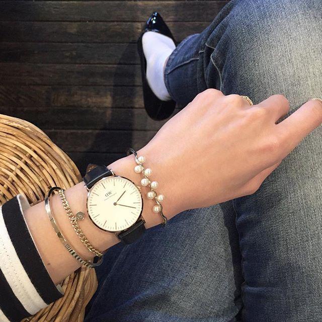 2016 3 10 span class emoji emoji2601 span 今日の手元 span class emoji emoji1f48e span chaikim デビューしました span c bracelet watch accessories watches