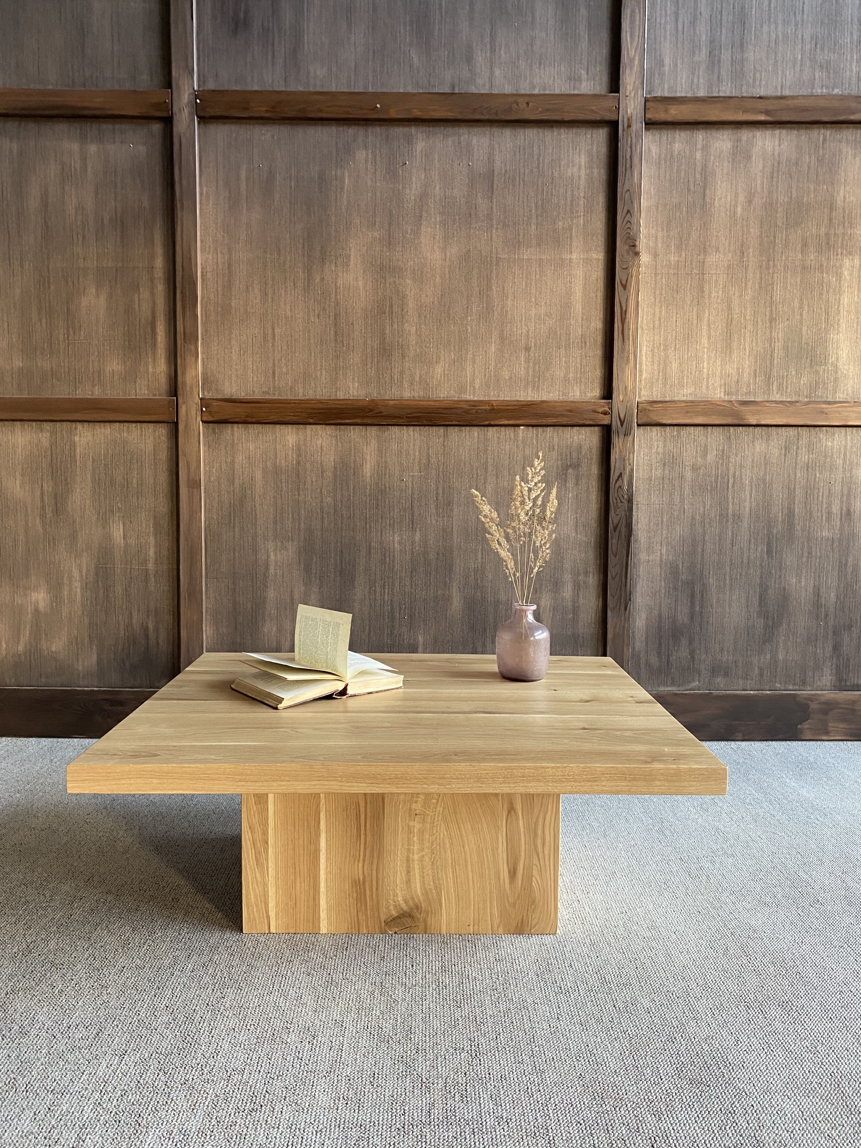Coffee Table In Rustic Oak Coffee Table Rustic Coffee Tables Handmade Furniture [ 3976 x 2982 Pixel ]