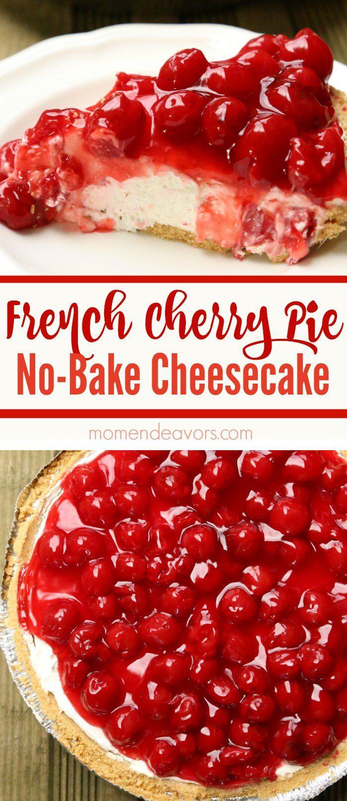 Grandma's French Cherry Pie - Mom Endeavors