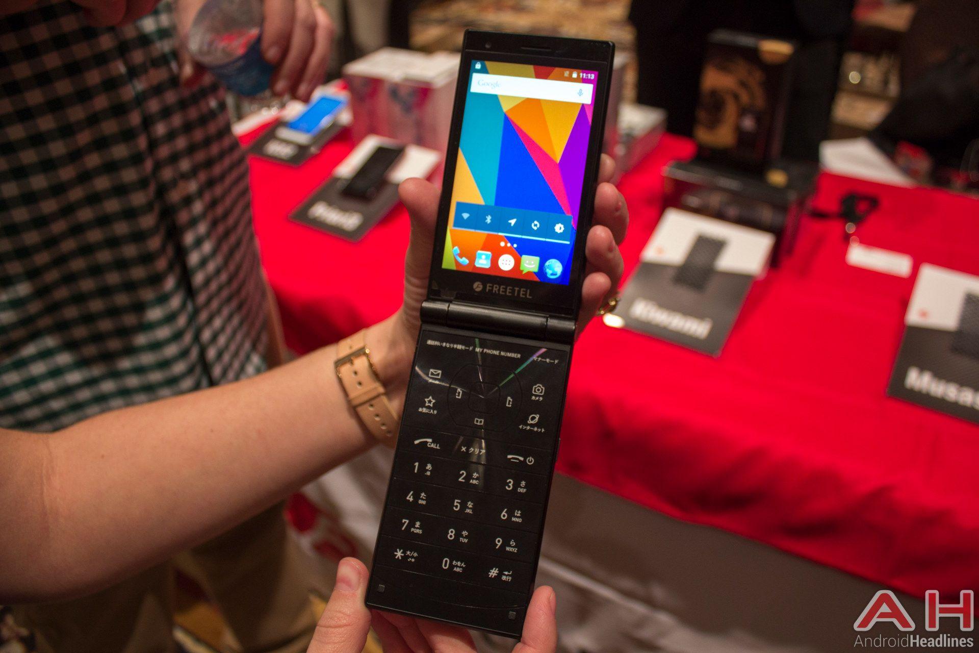 HandsOn With The Freetel Musashi Flip Phone Flip phones