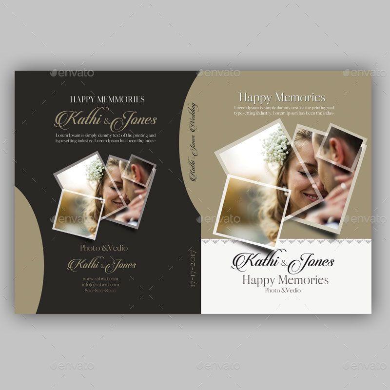 Wedding Dvd Cover Dengan Gambar Kolase Foto Desain Kolase