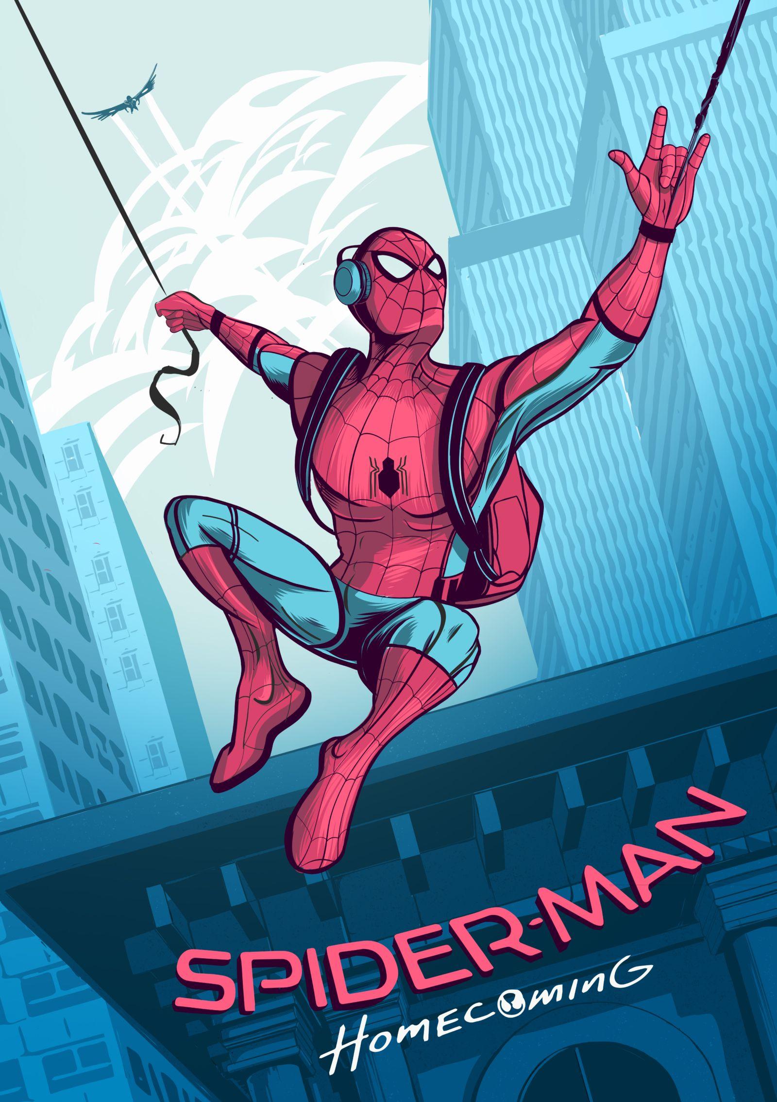 Spider Man Dessin