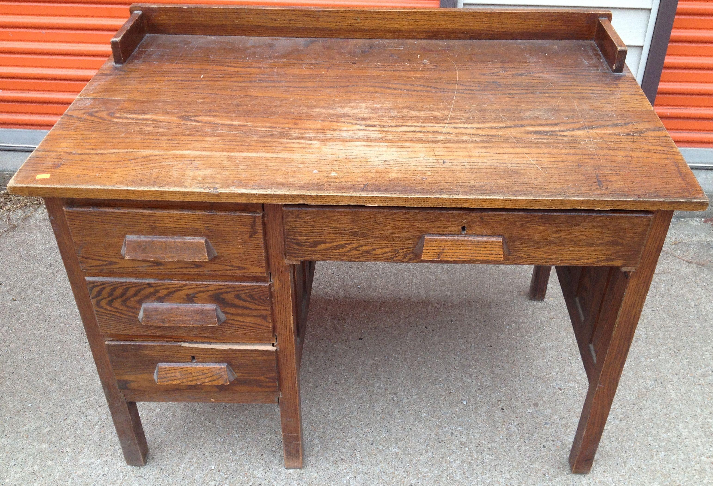 Antique Desks Home Antiques Oak Teacher S Desk