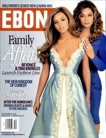 Beyonce Ebony Cover