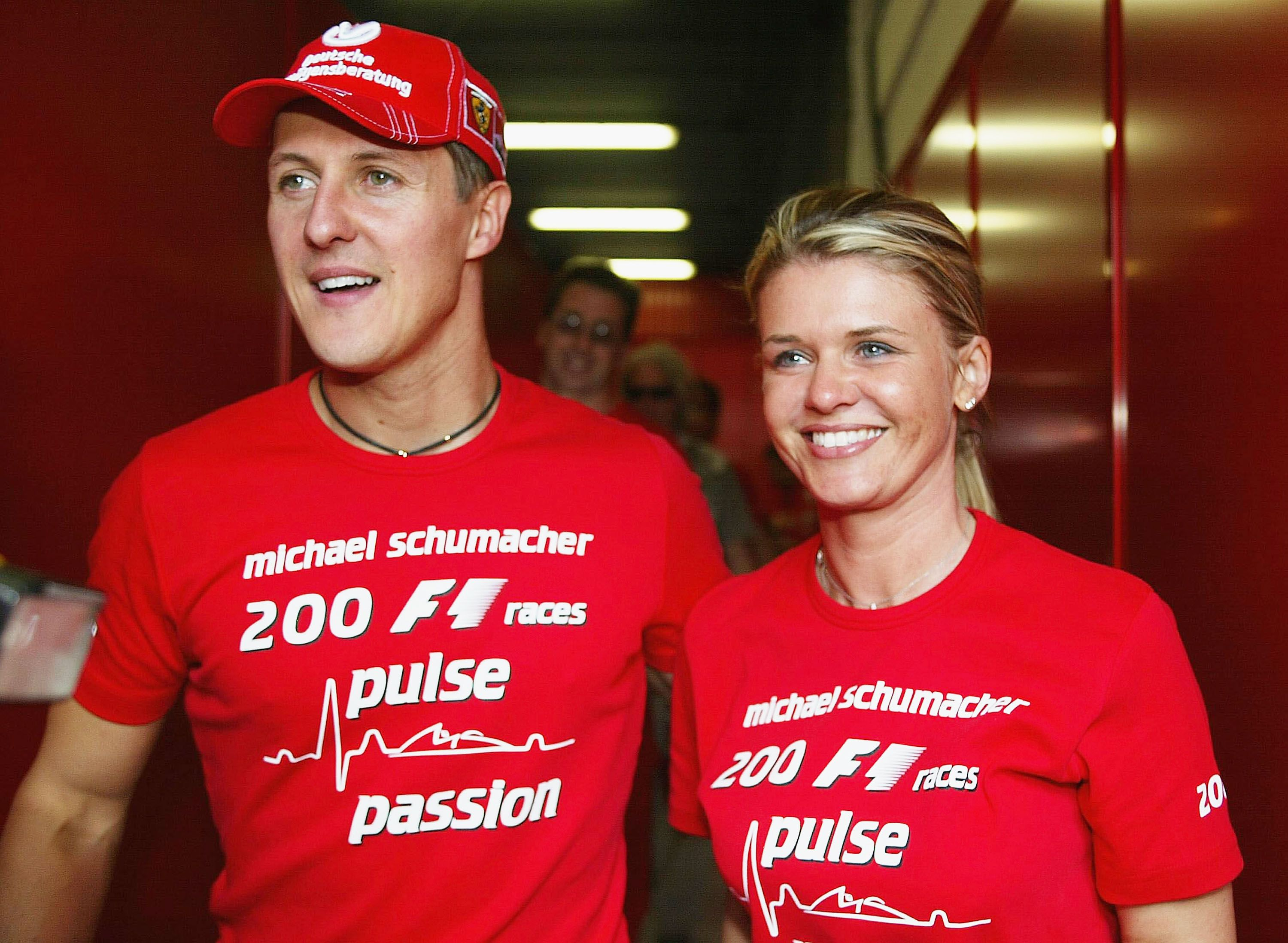 Schumacher S Wife Staying Strong With Images Michael