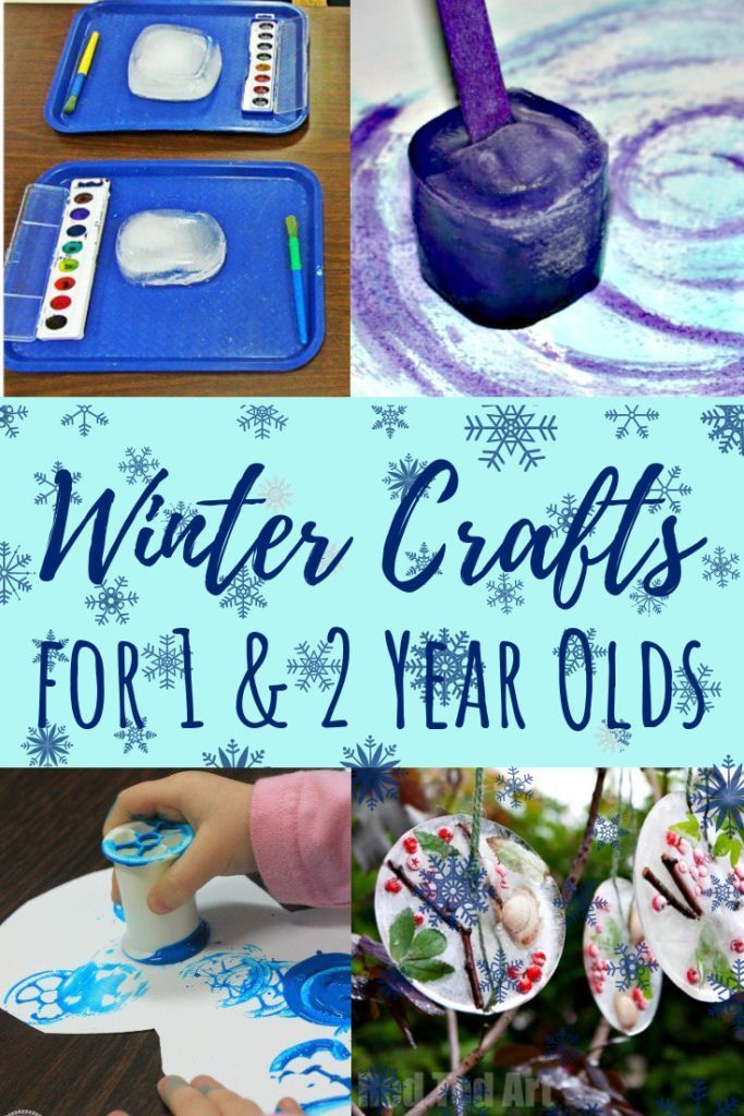 Winter Activities For 1 Year Olds Crafts Sensory Amp Fine Motor Activities For 1 Year Olds