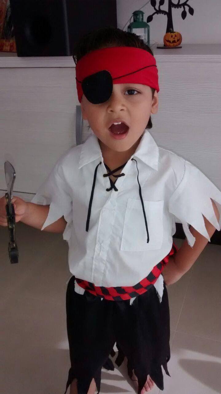 Niño Pirata Disfraz Pirata Casero Niño Disfraz Casero De Pirata Disfras De Pirata