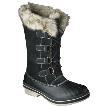 Women's Merona® Neida Winter Boots - Black. So comfortable that I ...