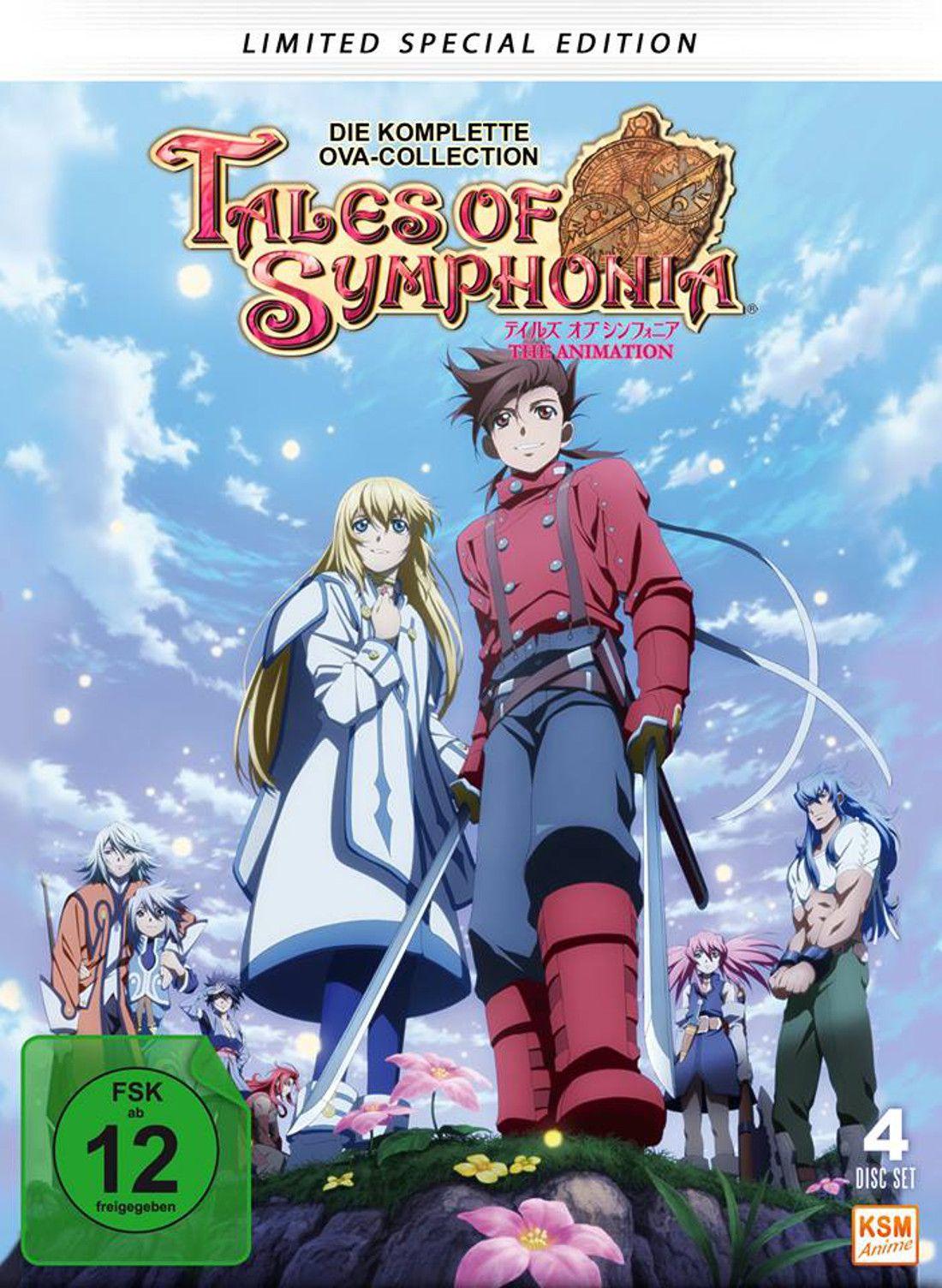 Tales of Symphonia KSM Anime stellt finales Artwork der
