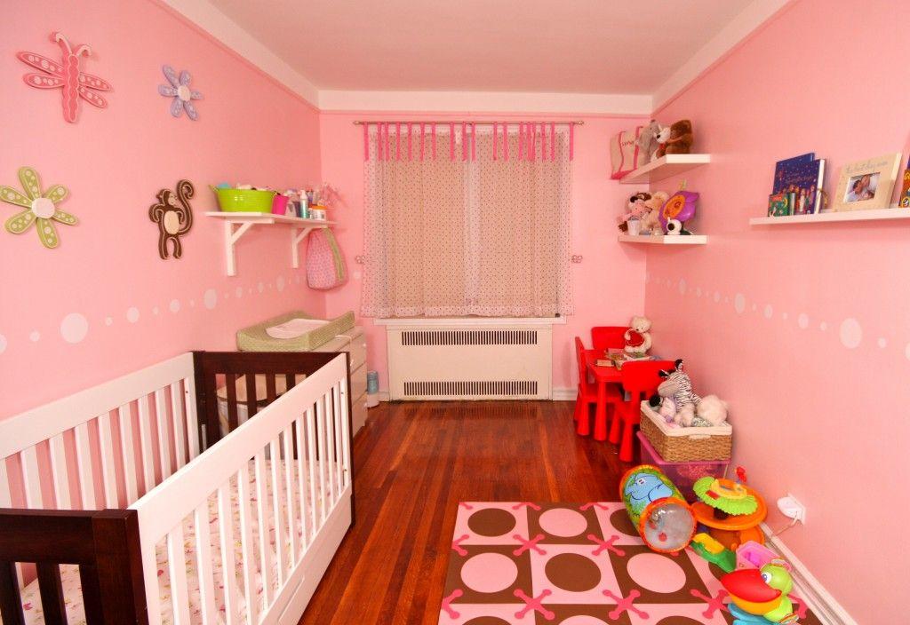 nursery room interior design with polka Dot Jungle | Ideas for the ...