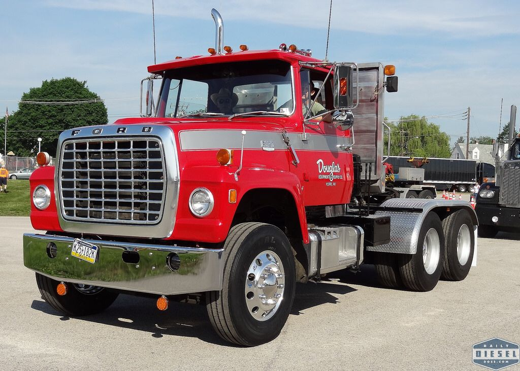Ford Louisville Diesel Trucks Ford Big Ford Trucks Big Trucks