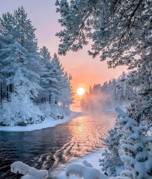 Фото зима лето