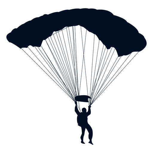 Man Falling With Parachute Silhouette Ad Sponsored Aff Falling Parachute Silhouette Man Mini Drawings Wayfinding Signage Design Silhouette Png
