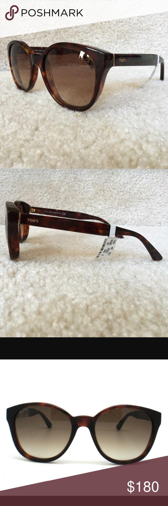d67c70821b5ff TOD S Sunglasses Tortoise TO146 52F 100% authentic TOD S Sunglasses  Tortoise Model  TO146 52F 100