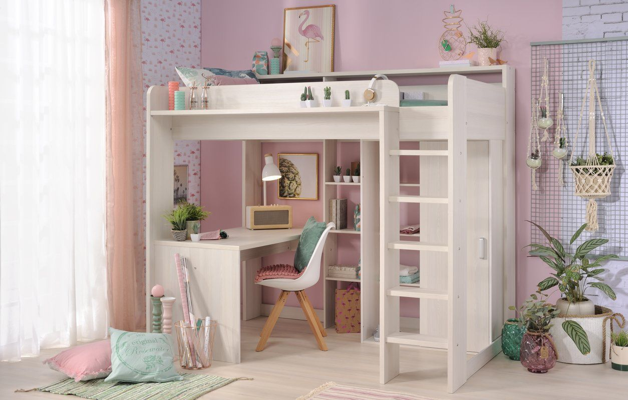 Melody High Sleeper Twin Bed Ikea Loft Bed High Sleeper