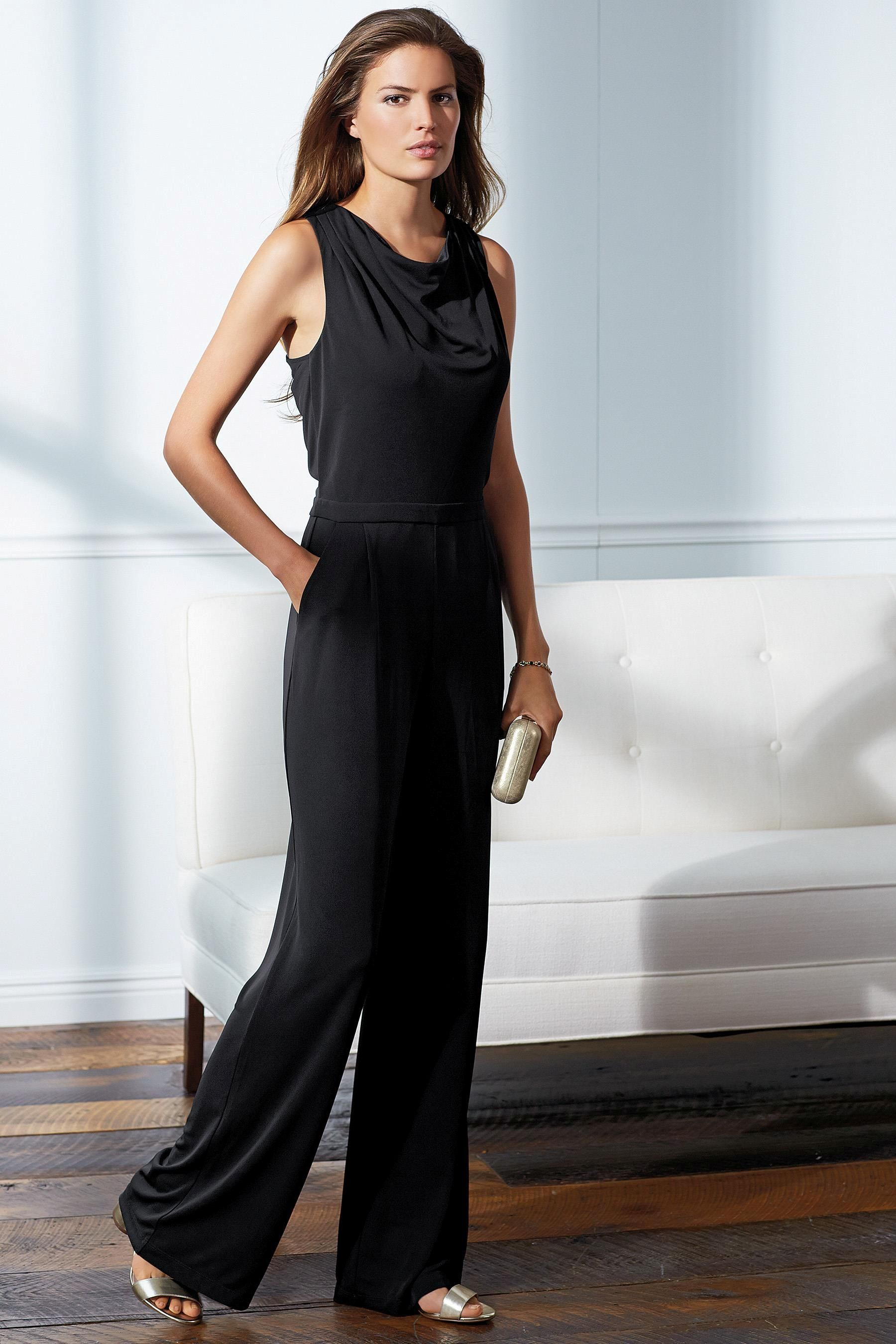 Black dress next - Buy Black Drape Back Jumpsuit Online Today At Next South Africa