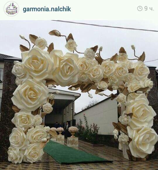 Paper Flowers Backdrop Wedding Paper Flower Backdrop Wedding