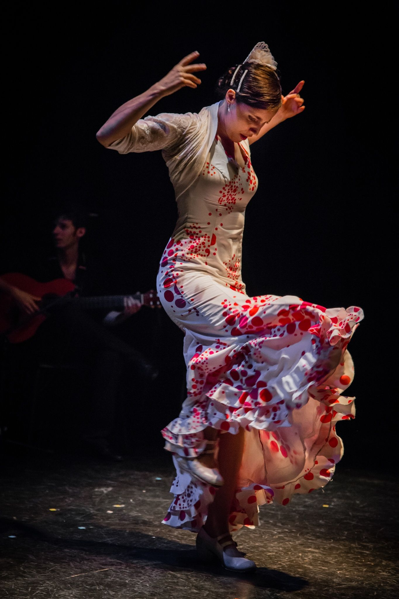 flamenco performance by elodie vélard | traditional dance