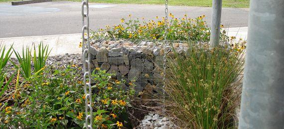 Peck Architects, Residential Gabions, Rockport Maine | Gabionbaskets.net