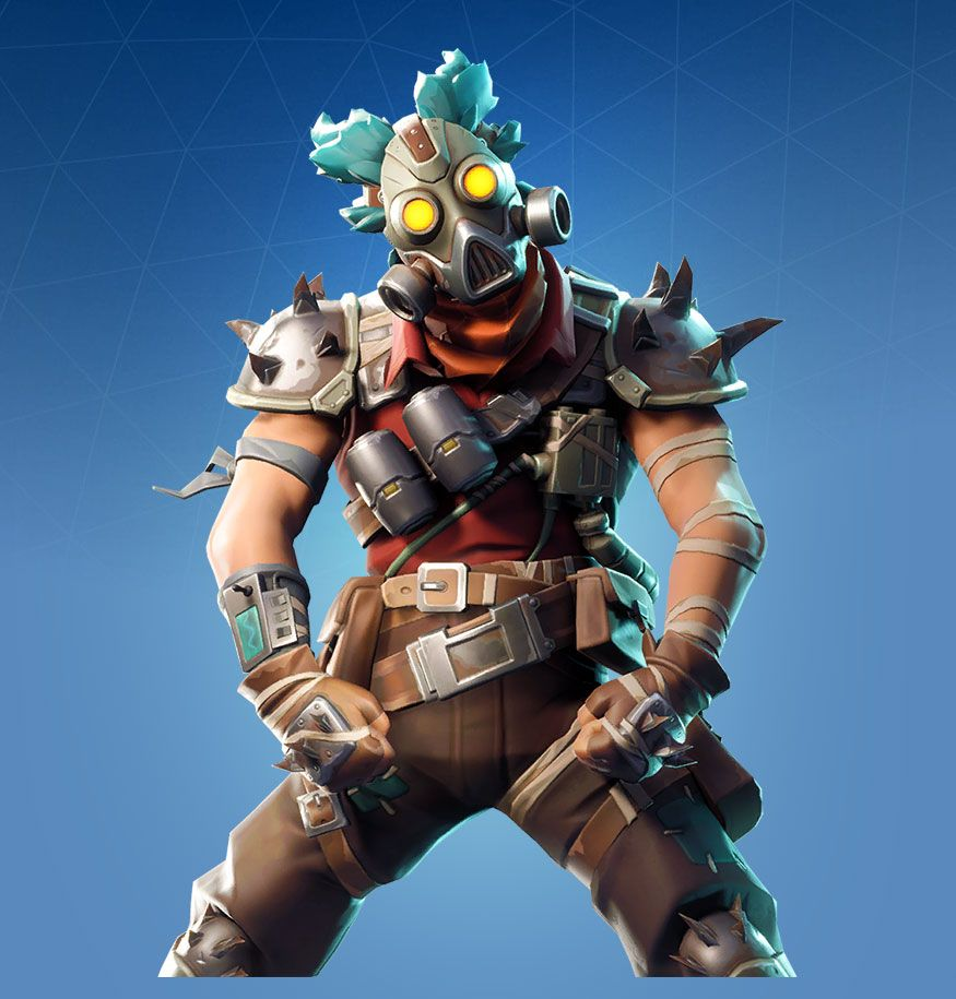 Ruckus Is A Rare Fortnite Outfit From The Wasteland Warriors Set