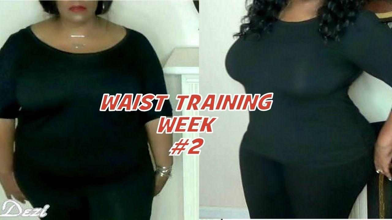 WAIST TRAINING WEEK #2 Vlog Plus My